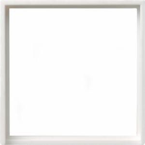 Gira 028203 Zwischenring für 50x50mm Abdeckung Reinweiß glänzend