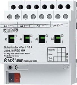 Jung KNX Schaltaktor 4fach 2304.16REGHM