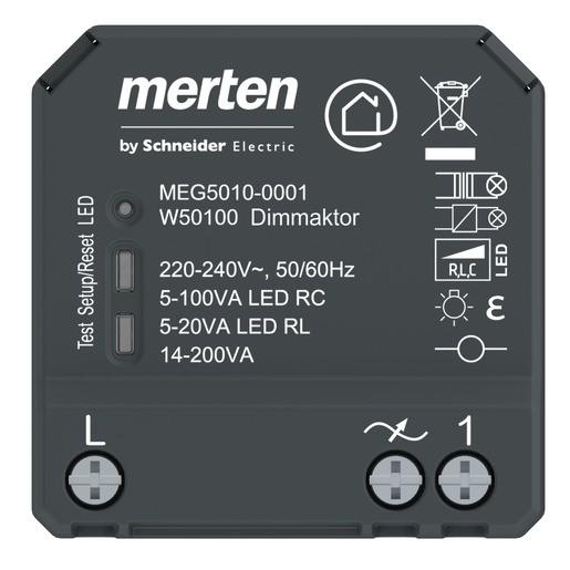 MERTEN MEG5010-0001 Wiser Dimmaktor 1fach UP