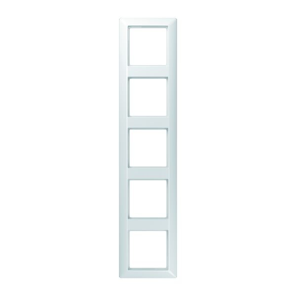 Jung AS 585 WW alpinweiß 5 fach Rahmen