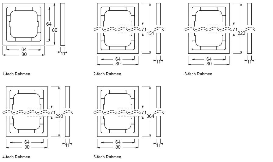 Häufig Busch-Jaeger Future Linear | Schalterprogramm | Elektricworld24.de NS88