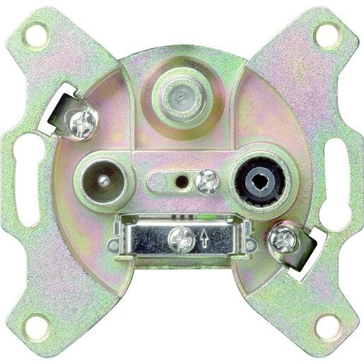 Gira 093700 Einsatz Antennendose EDA302F End-/Einzeldose