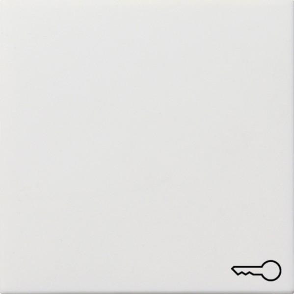 """GIRA 0287112 Wippe mit Kontroll-Fenster und Symbol """"Tür"""" Reinweiß glänzend"""