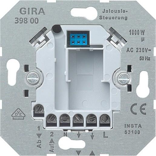 GIRA 039800 Einsatz Jalousiesteuerung 230 V~ mit Nebenstelleneingang