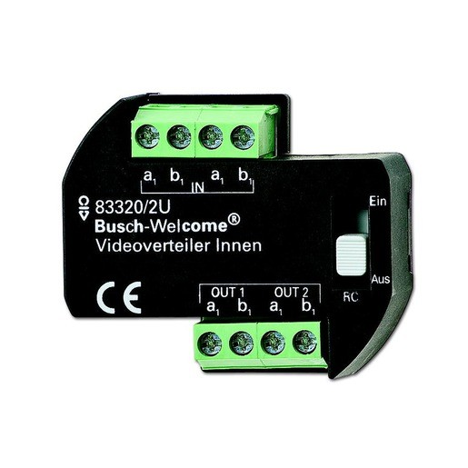 BUSCH-JAEGER 83320/2U Videoverteiler Innen UP