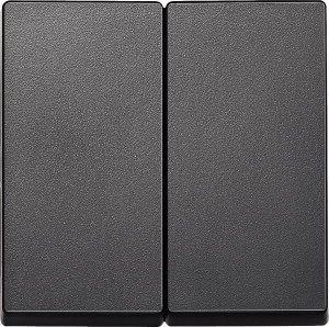 MERTEN 433514 Wippe für Serienschalter f ür Serien-, Doppelwechselschalter- und D Anthrazit, matt