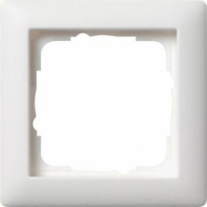 Gira 021104 Rahmen Reinweiß Seidenmatt 1 Fach