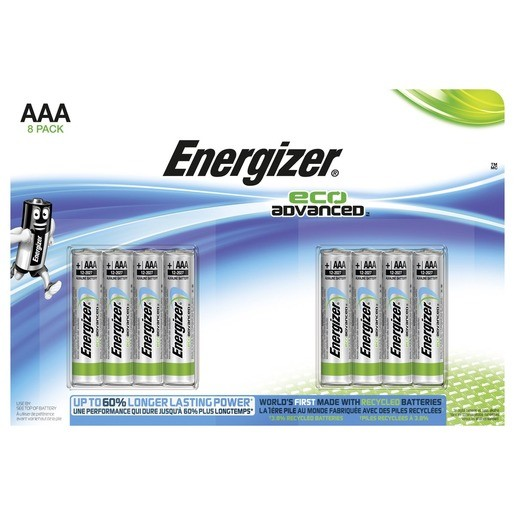 Energizer Eco Advanced AAA / Micro / LR03 8er ,LR03