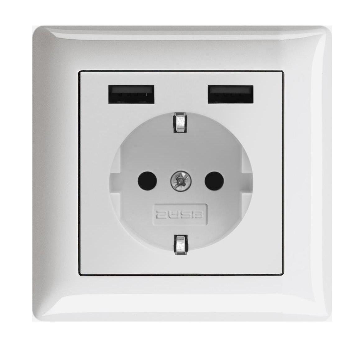 Die USB Steckdose für Gira, Jung, Berker uvm. | Elektricworld24.de