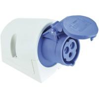 SIROX® CEE-Wanddose IP 44, 3-polig, 230 V, 6 h 16 A