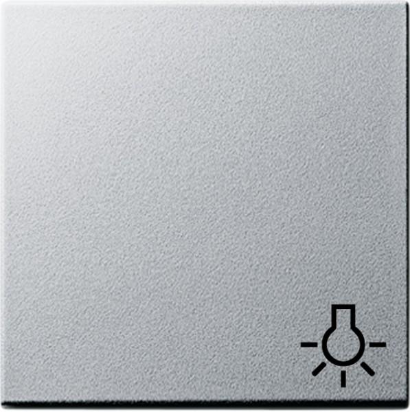 Gira 028526 Wippe mit Symbol Licht fuer Wippschalter und Wipptaster Alu