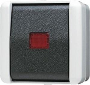 JUNG 802KOW Wipp-Kontrollschalter Aus 2-pol.