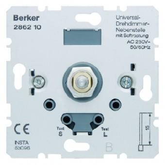 BERKER 286210 Universal-Drehdimmer-Neben stelle mit Softrastung