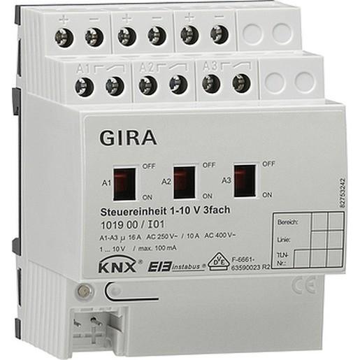 Gira 101900 KNX EIB Steuereinheit 1 - 10V 3fach