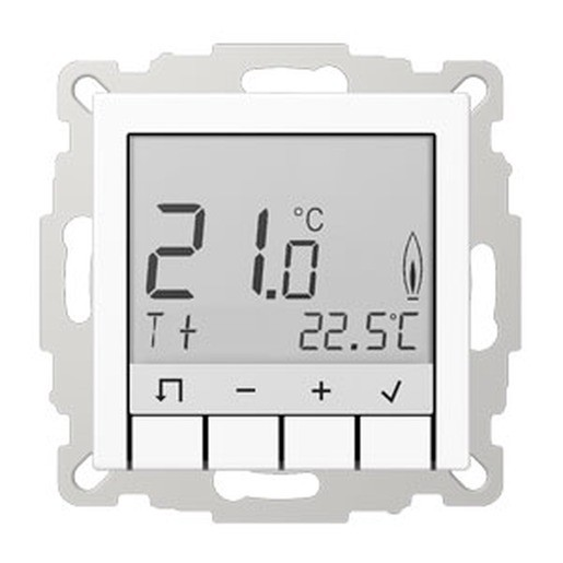 jung trda231ww raumtemperaturregler mit display alpinwei. Black Bedroom Furniture Sets. Home Design Ideas