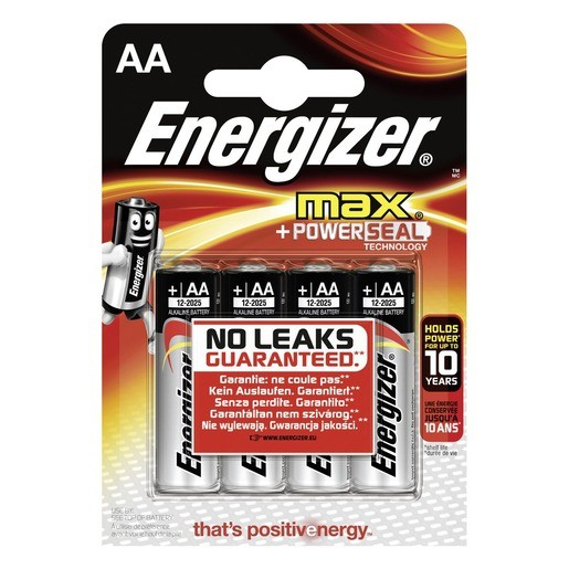 Energizer Max Alkaline AA / Mignon / LR6 4er ,LR6