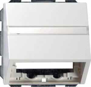 Gira 087028 Datenhaube mit Tragring und Beschriftungsfeld Anthrazit