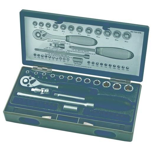 BizLine 37-tlg. steckschlüssel - satz