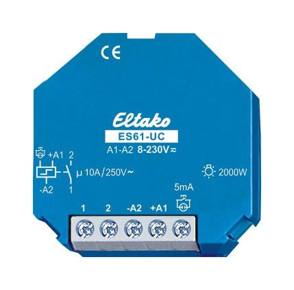 Eltako ES61-UC Stromstoßschalter UC 1S potenzialfrei