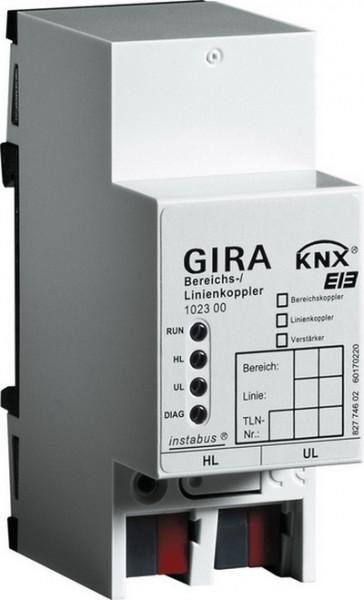 Gira 102300 KNX EIB REG Bereichs- Linien- Koppler