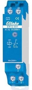 Eltako S-Koppelrelais ER12-001-8..230VUC 1 Wechsler 10A 250VAC 22001601