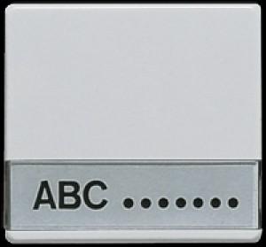 Jung Wippe mit Schriftfeld 600 NA für Schalter und Taster