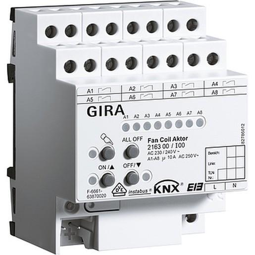 Gira 216300 Instabus KNX/EIB Fan Coil Aktor REG plus