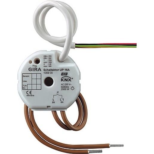 Gira 105900 KNX EIB Schaltaktor 1fach 16 A UP