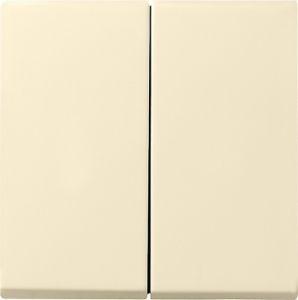 Gira 029501 Serienwippen für Wippschalter und Wipptaster Cremeweiß glänzend