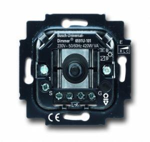 BUSCH-JAEGER 6591U-101 Universal-Drehdimmer 60-420W