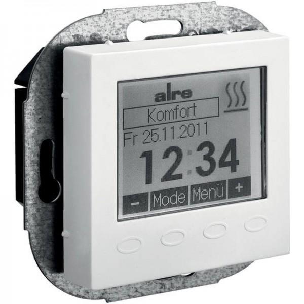 alre HTRRUu210.021#55 Raumtemperaturregler mit Uhrenprogramm reinweiß UA060004