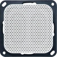 OPUS® 1 Flach-Lautsprecher mit Abdeckung alpinweiß