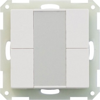 MDT BE-TA5504.01 Taster 4fach reinweiß matt