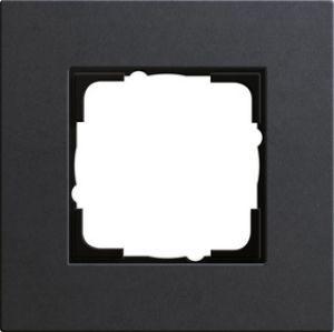GIRA 0211226 Esprit Abdeckrahmen Linoleum-Multiplex Anthrazit 1-fach