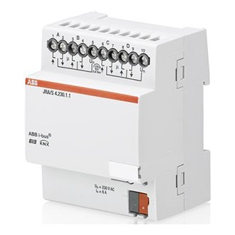ABB-JRA/S4.230.1.1 Jalousie-/Rollladenaktor 4fach