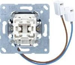 JUNG 533U-LEDW Taster mit integriertem LED-Einsatz