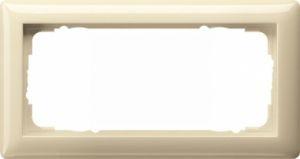 Gira 100201 Rahmen ohne Mittelsteg 2 Fach 2fach ohne Mittelsteg