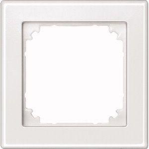 MERTEN 462119 M-SMART-Rahmen 1fach Polarweiss, hochkratzfest