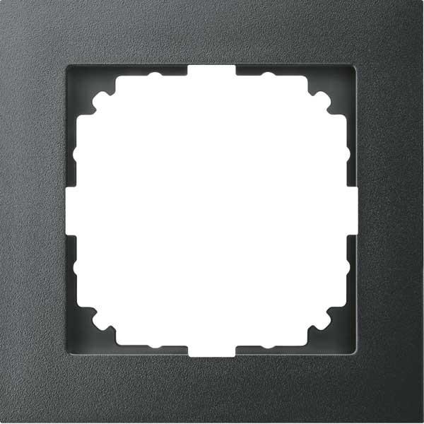 MERTEN MEG4010-3614 M-Pure-Rahmen, anthrazit 1-fach