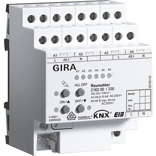 Gira 216200 Instabus KNX/EIB Raumaktor REG plus