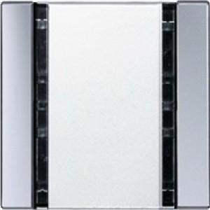 Jung KNX Tastsensor 1fach Universal aluminium A2091NABSAL