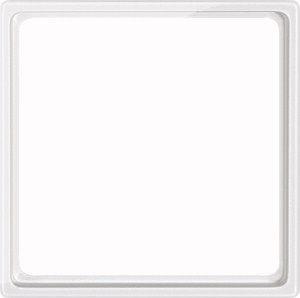 MERTEN 518519 Zwischenring für Kombieinsätze nach DIN 49075 Polarweiss, glänzend