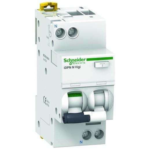 Schneider A9D56616 FI/LS-Schalter iDPN N Vigi 1p+N 16A 30mA Typ A