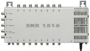Kathrein Umschaltmatrix EXR 1516 5 Eingänge 16 Ausgänge aktiv