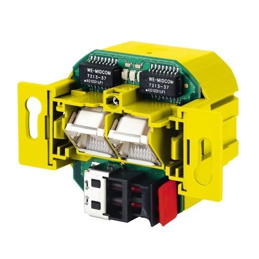 LAN Access Point 2-Port 100 DATALIGHT, LAN Access Point 2-Port 100 DATALIGHT Netzwerkanschlussdose,