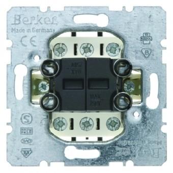BERKER 503808 Serientaster, 2Wechsler