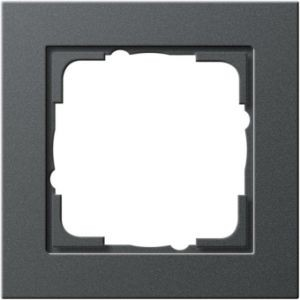 Gira 021123 Anthrazit Rahmen E2 1fach