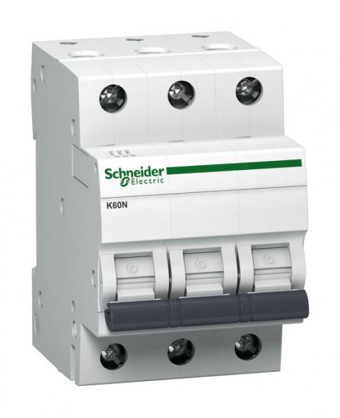 Schneider A9K01316 Leitungsschutzschalter K60N 3p 16A B Charakteristik 6kA