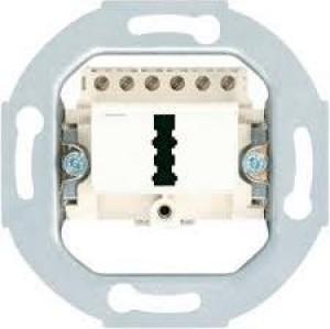 JUNG TAE 3X6 NFNUPO, TAE-Anschlussdose, für 1 Telefon und 2 Zusatzgeräte, N-F-N-Kodierung