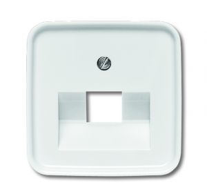 busch j ger reflex si 1803 214 abdeckung f r netzwerkanschluss 1 fach telefon und. Black Bedroom Furniture Sets. Home Design Ideas